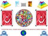 Seri Üretim Toptan Satış Ucuz Duvar Çerçeve Modelleri Kurumsal Firmalara