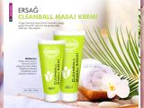 ERSAĞ  CLEAN BALL MASAJ KREMİ 200 ML